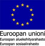 EU aluekehitysrahasto ja sosiaalirahasto logo