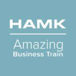 HAMK Amazing Business Train -opintojen logo