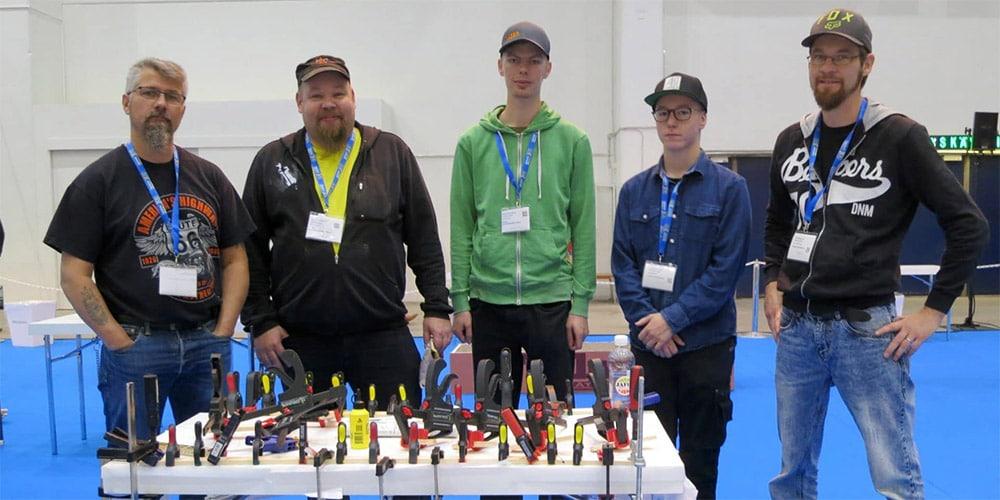 Puusiltakilpailun voittajat