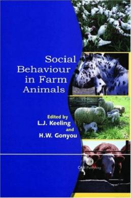 social behaviour in farm animals kirjan kansi