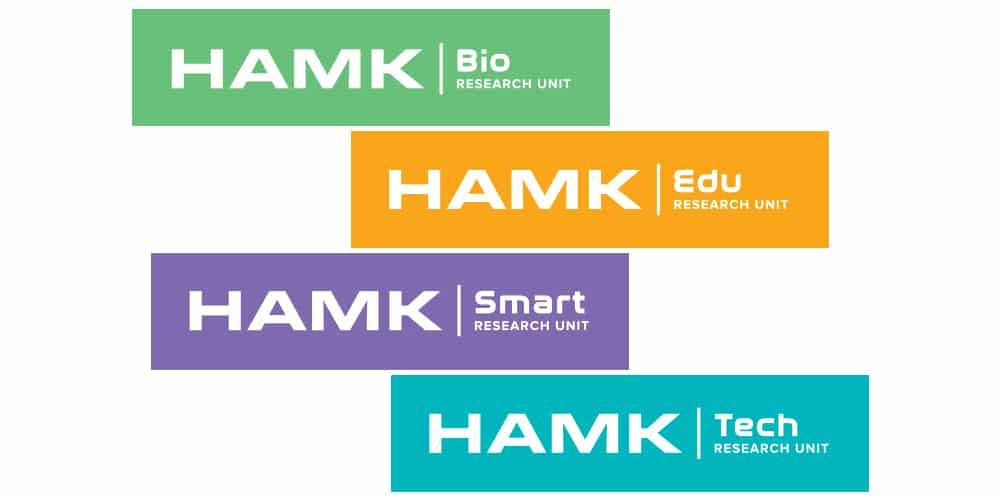 tutkimusyksiköiden logot