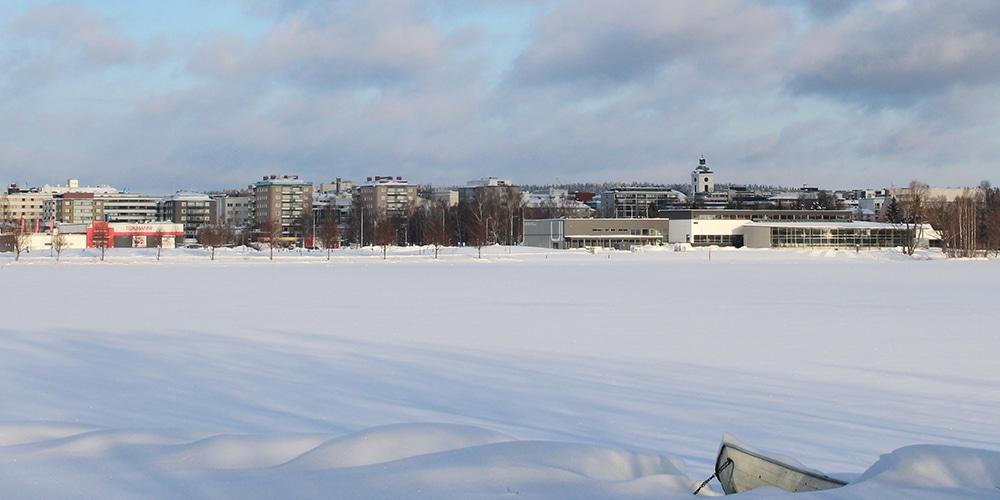 talvinen Hämeenlinna