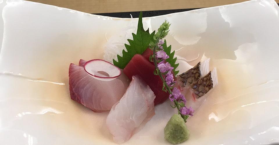 japanilainen ruoka-annos