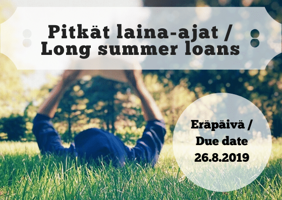 Library long summer loans