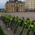 kaupunkipyörät torilla