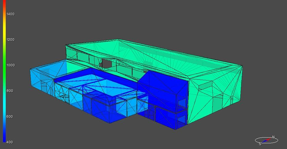 simulaatio rakennus