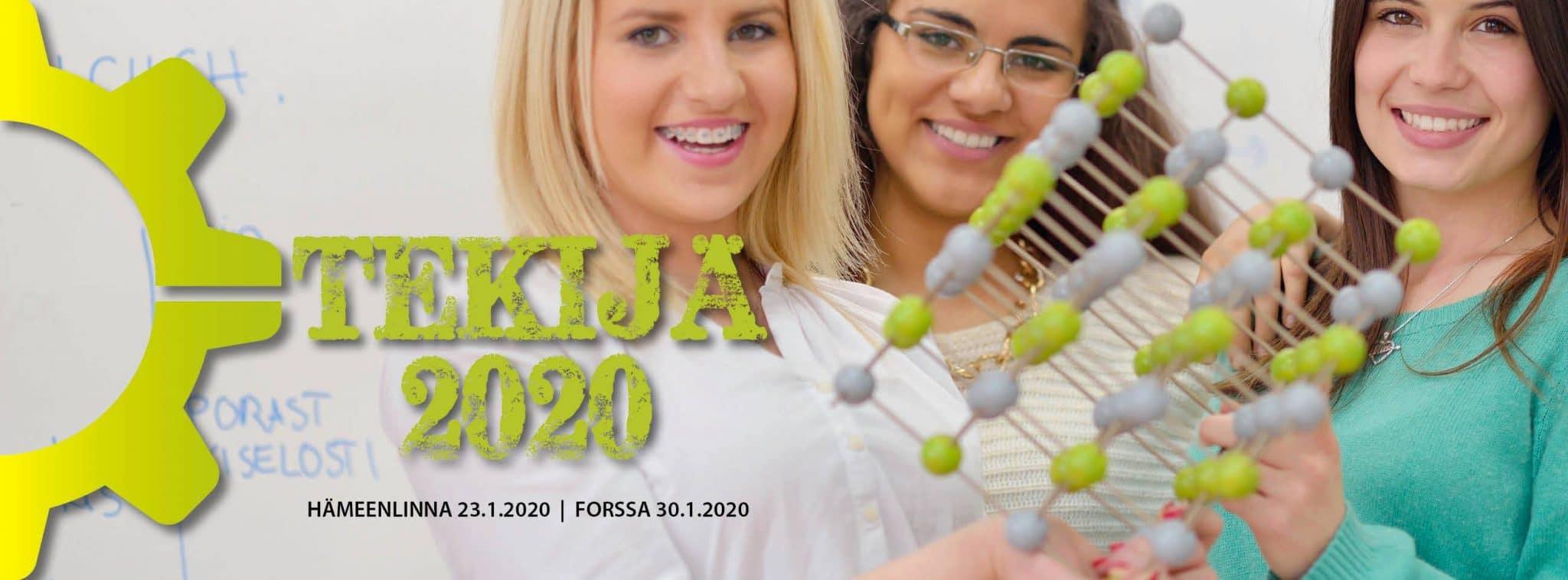 Tekijä 2020-tapahtuman logo