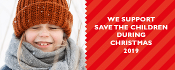 We support Save the children during christmas 2019