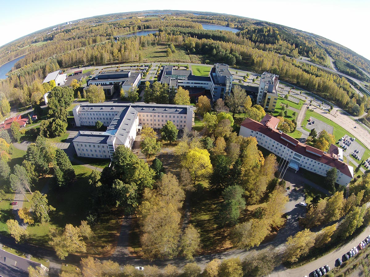 Hämeenlinna University Centre airview