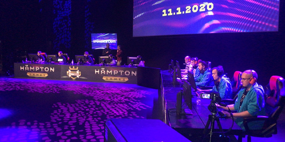 HAMKin joukkue pelaa Hämpton Gamesissa