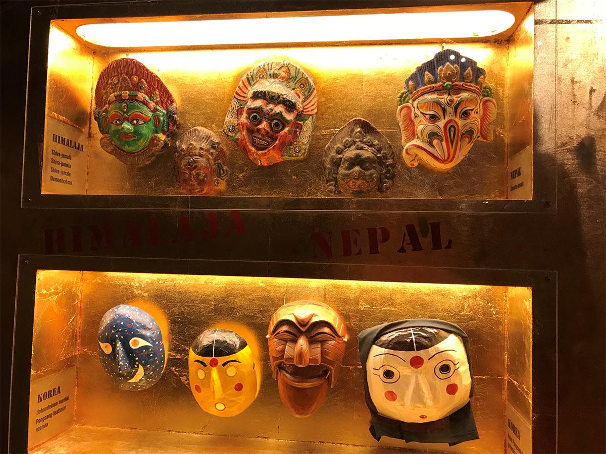Masks exhibition
