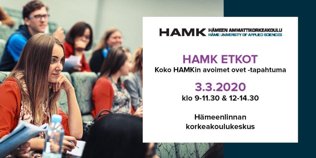 HAMK Etkot 3.3.2020