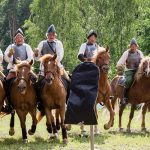 hevosia Hakkapeliitat-tapahtumassa