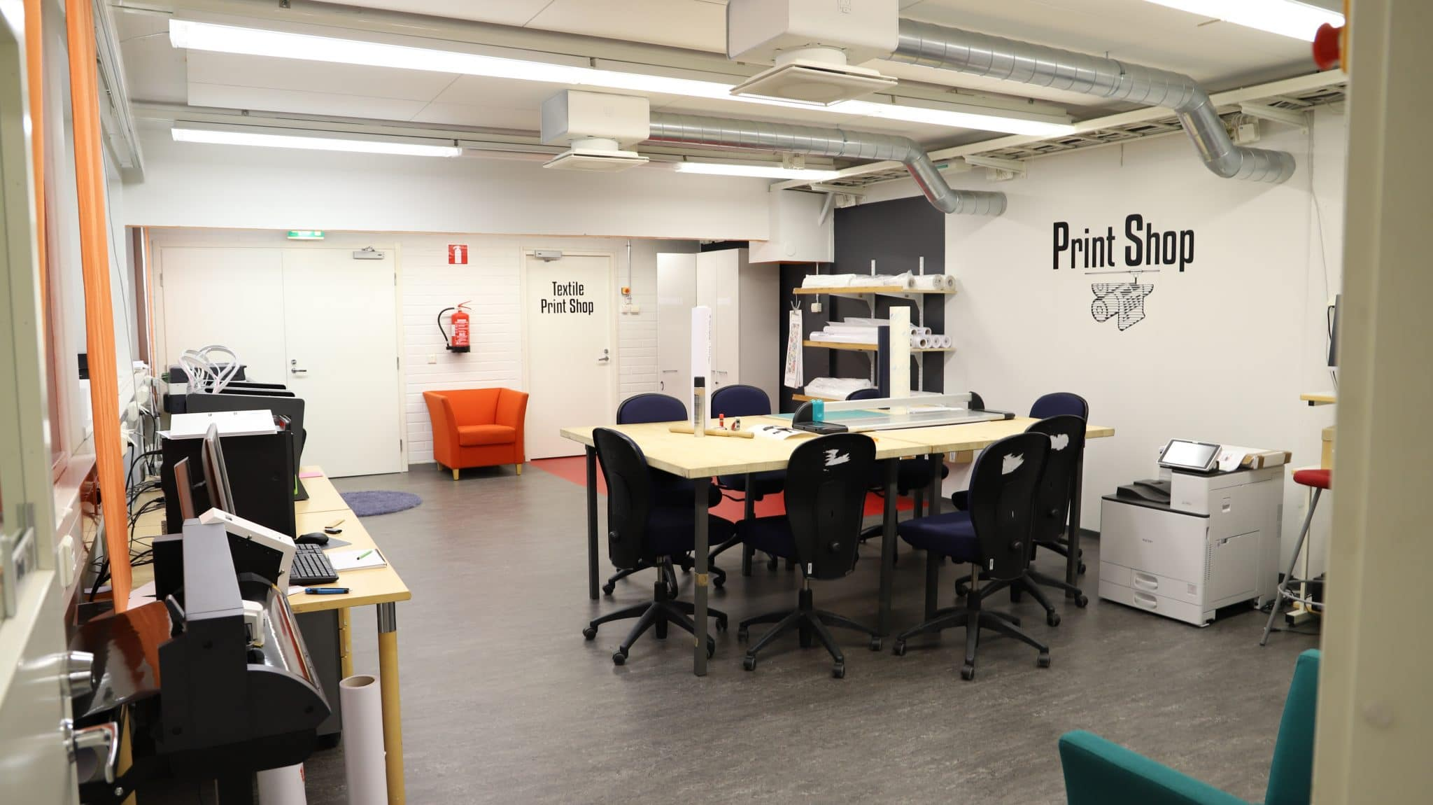 tulostutilat Design Factory