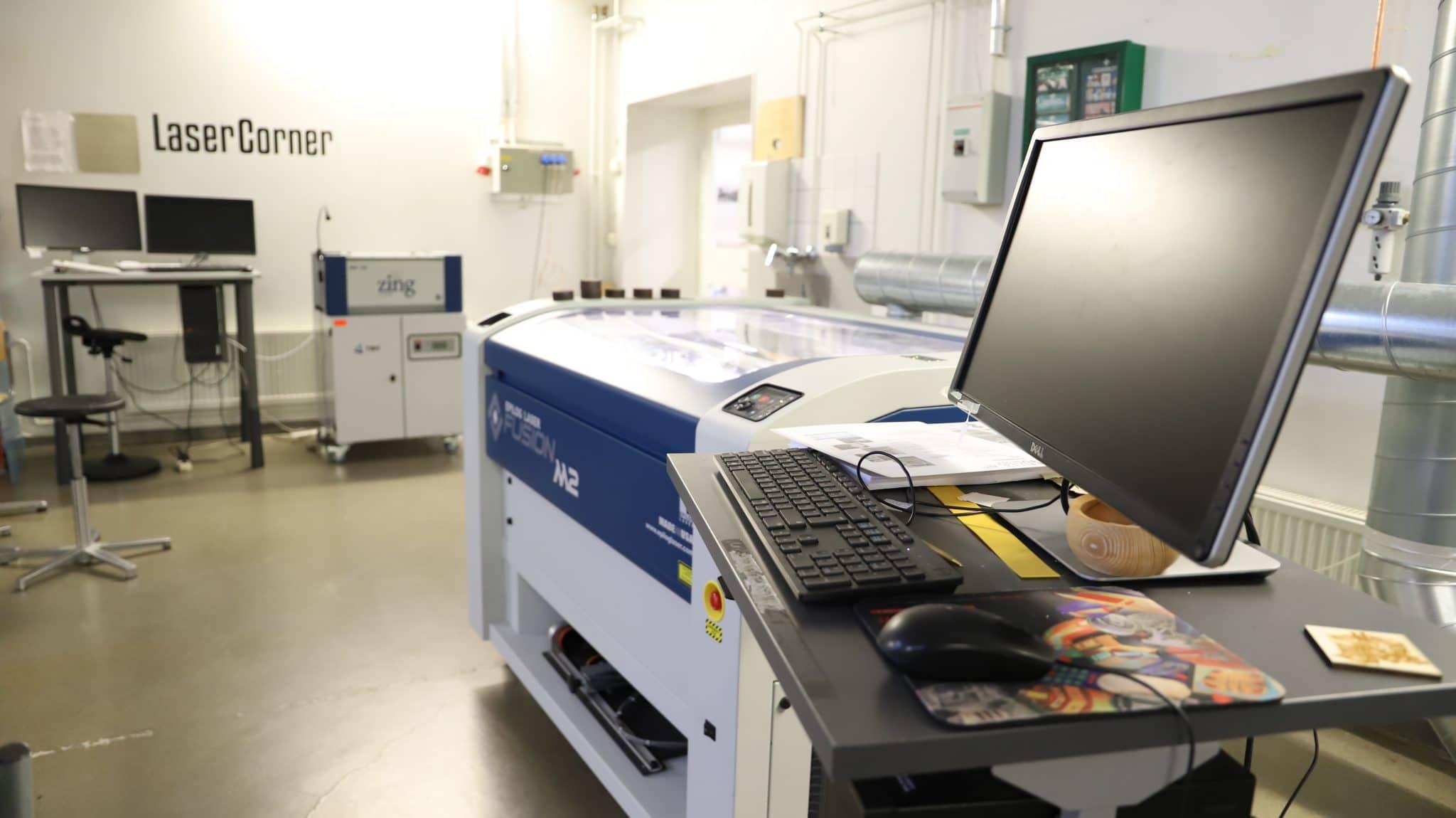 Laserpaja design factory