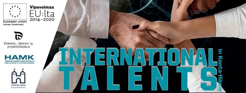 Internationa talents in kanta Häme