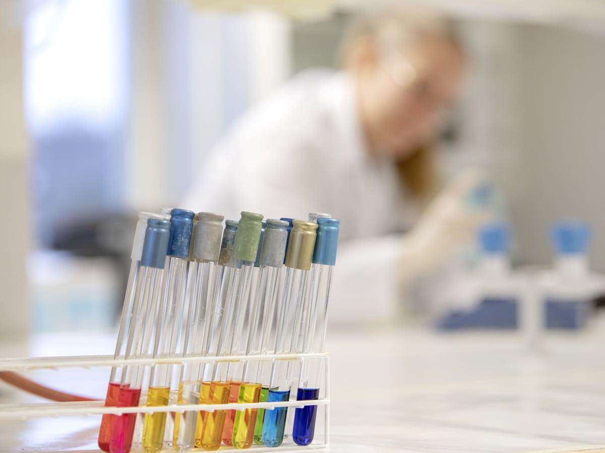 koeputket laboratoriossa