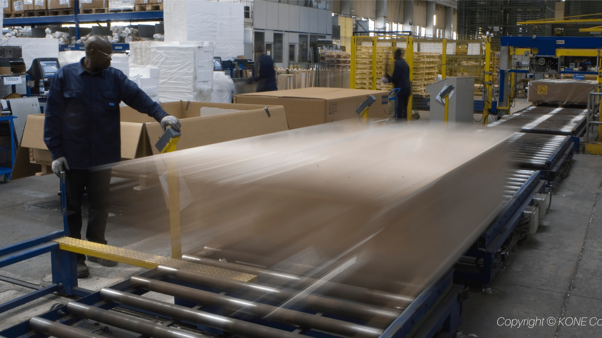 KONE production line