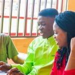Afrikkalaisia opiskelijoita