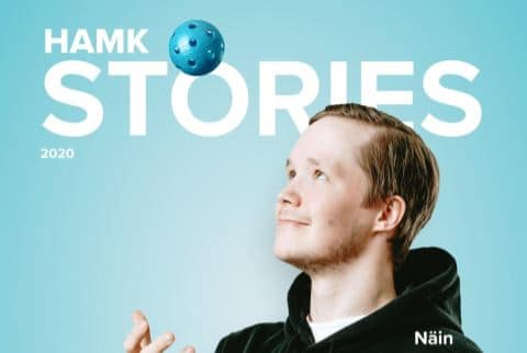HAMK Stories 2020 lehden kansikuva