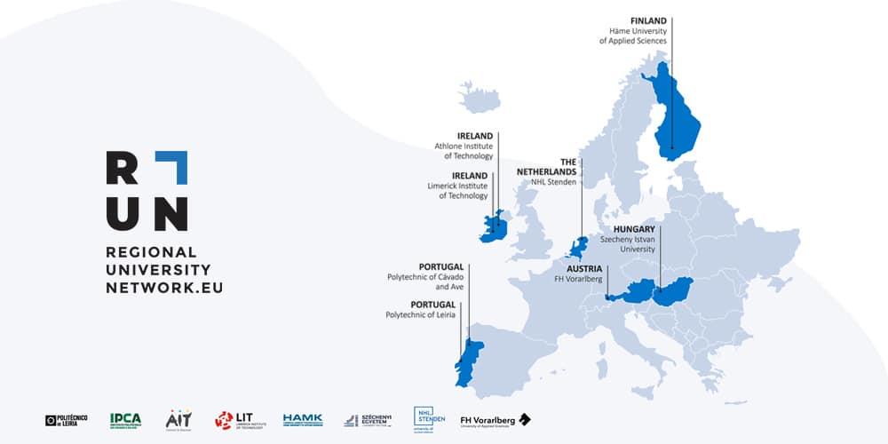 RUN-kumppanimaat kartalla