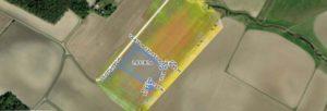 ilmakuva pellolle