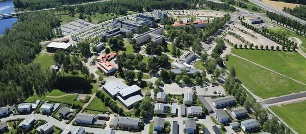 Ilmakuva Visamäen korkeakoulukeskuksesta