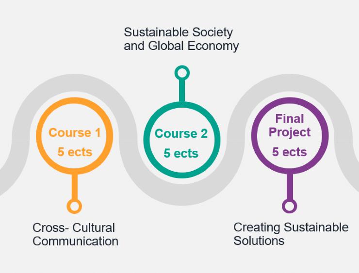 Course structure scheme