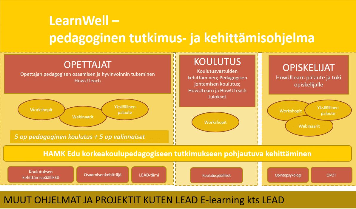 LearnWell -pedagoginen tutkimus- ja kehittämisohjelma