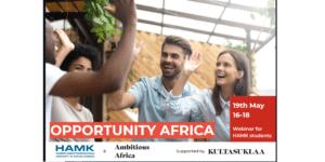 poster of the africa info webinar
