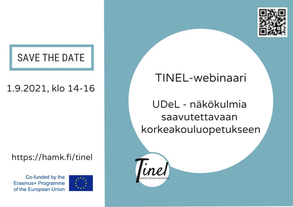 tinel webinaari save the date -kuva