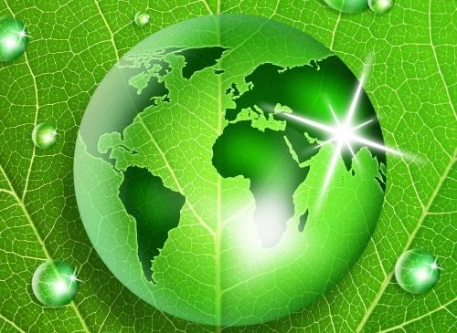 Vihreä maapallo